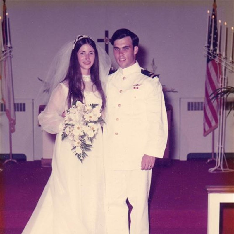 Louise & I began at the Presbyterian Chesapeake Center while in High School. Then were together while I attended the Naval Academy. She & I served together for all but two days of my active duty.