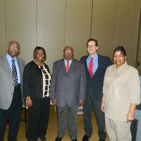 Jay with NAACP Leaders