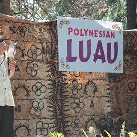 APCC Luau - MC Extraordinaire, Dr. Michael Tuncap, from the lovely island of Guam.