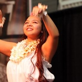 Hawaiian Dance, keep your eyes on the hands...Imahe Dancers - Guam/Hawaii