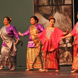 A new group this year was the Indonesian Dance group