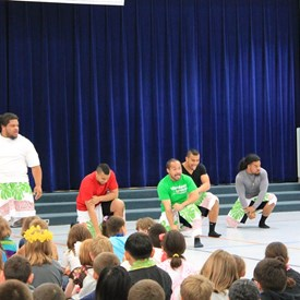 Ta Mate, Ta Mate... more Haka at Brouillet Elementary School