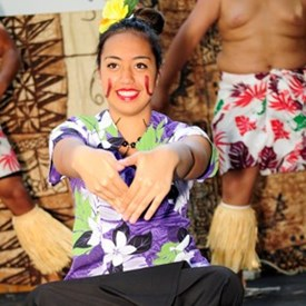 Talofa teine...how are you today?   (photo by Joseph Miceli Digimagery@yahoo.com)