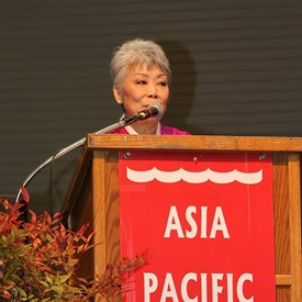 Founder and President of Asia Pacific Cultural Center, Ms. Patsy Surh O'Connell