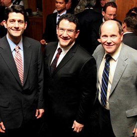 Bob Kulp seen with Paul Ryan and Reid Ribble.