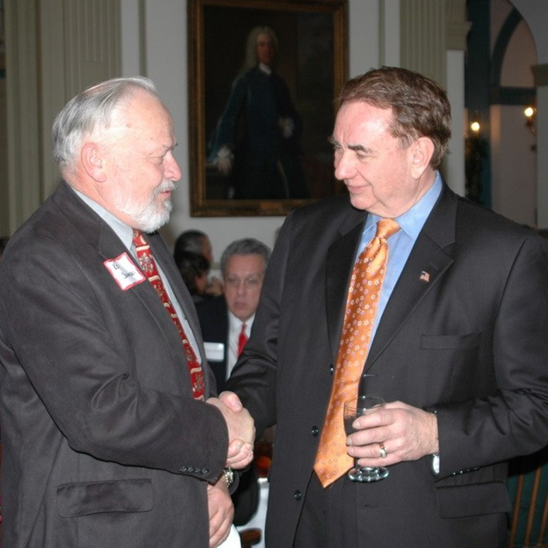 Ken with former Governor Tommy Thompson.