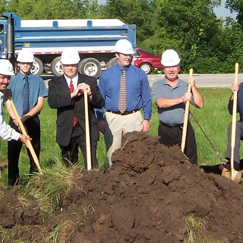 Andy's Gas Station on Rawson Avenue Ground Breaking on July 28, 2006.