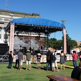 Guns 4 Roses out of Dallas, TX — at 2nd Annual Summer SausageFest.