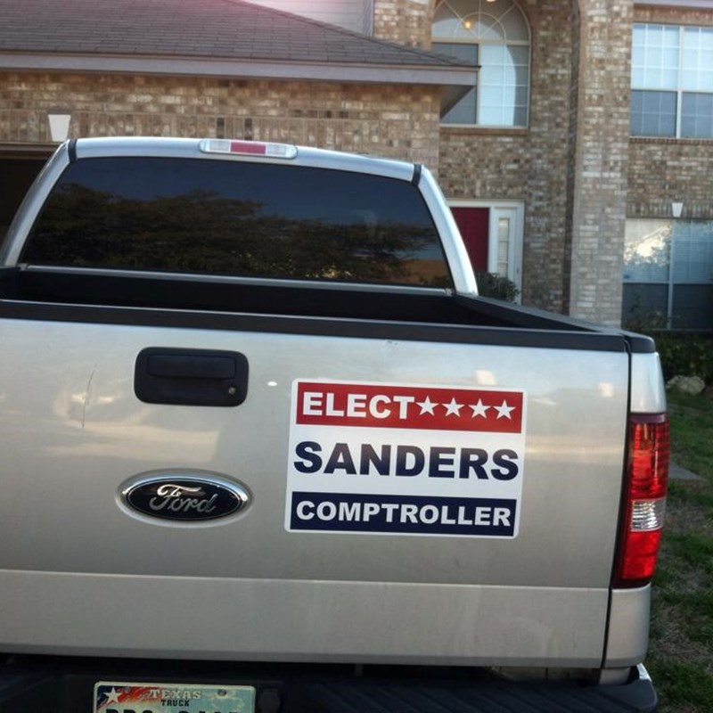 Support in San Antonio. Thanks Lee for all your support.