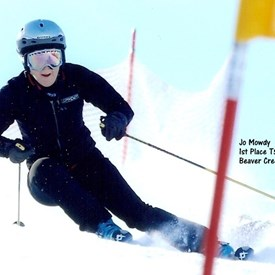 Jo Mowdy at Beaver Creek, CO. 2011.