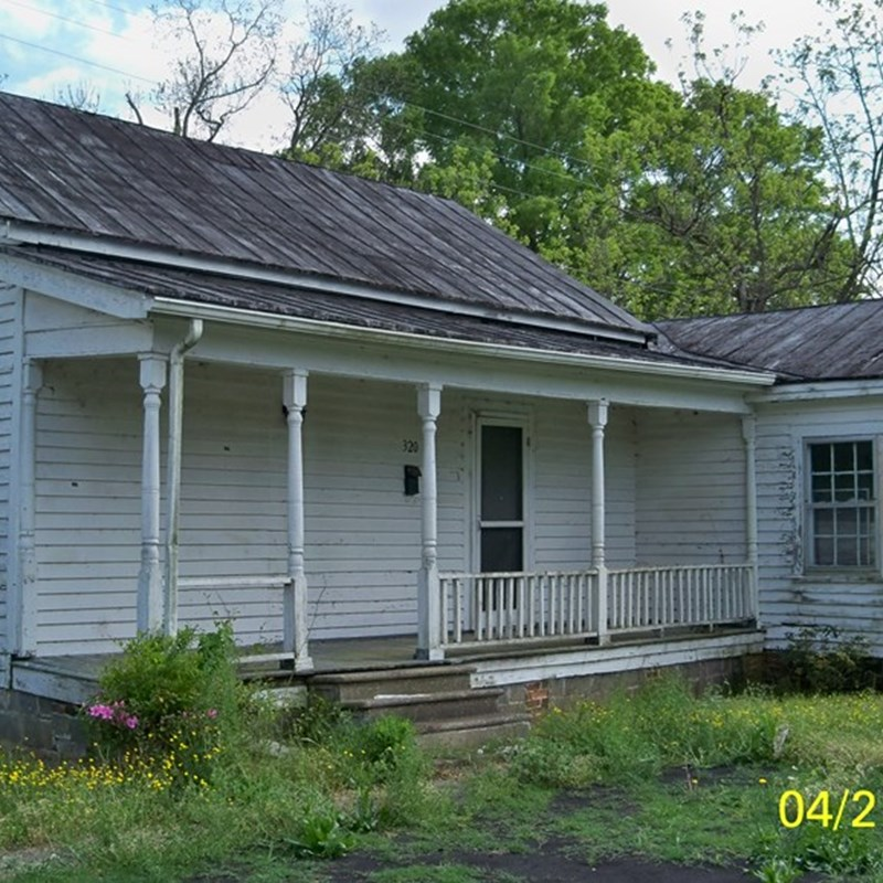 My father's boyhood home in Mt Olive, North Carolina.