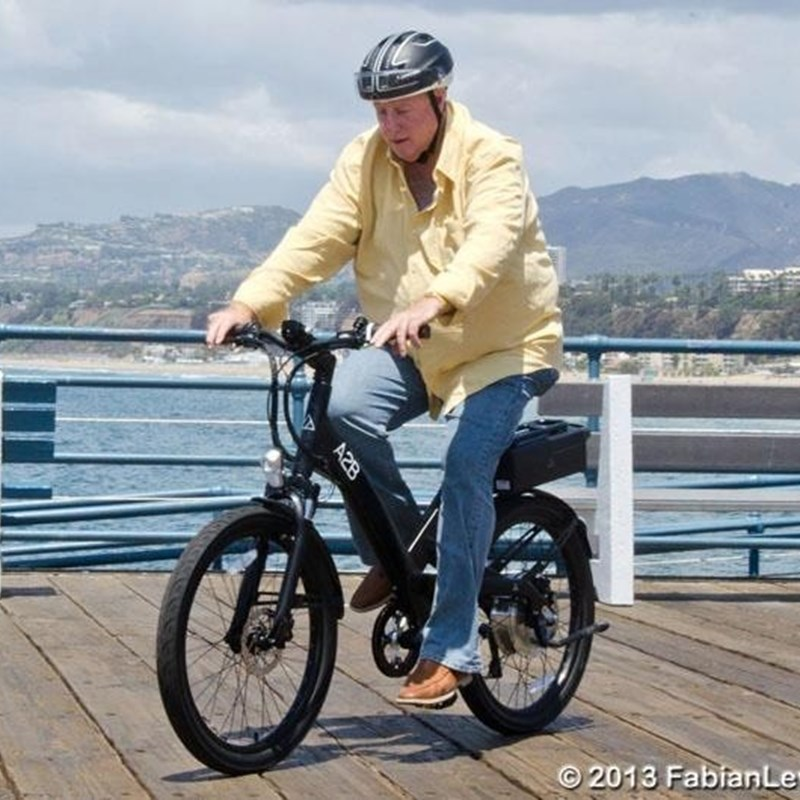 Trying out an electric assist Bike on the Santa Monica Pier. I am firmly committed to safe Bicycling as an alternative to driving in our city. However, as much as I want our citizens to be active I also recognize that Bicycles, Automobiles and Pedestrians must be able to co-exist on streets & sidewalks that are safe and streets that are easy to traverse for all.