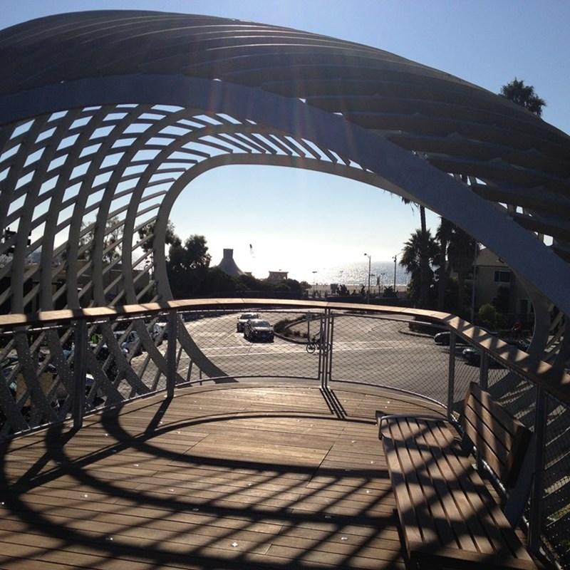 The Tongva Park overlooks or as I call them...our slinkies!