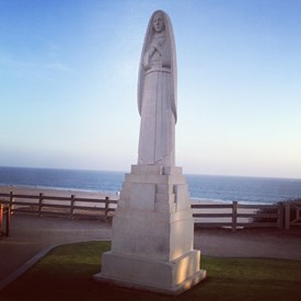 St Monica. Our city's namesake.