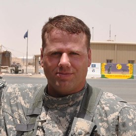 Picture of Captain Kevin Grant in Kuwait