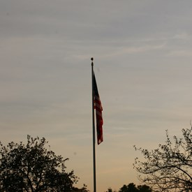 Flag at the Grant family farm...what a beautiful sight!