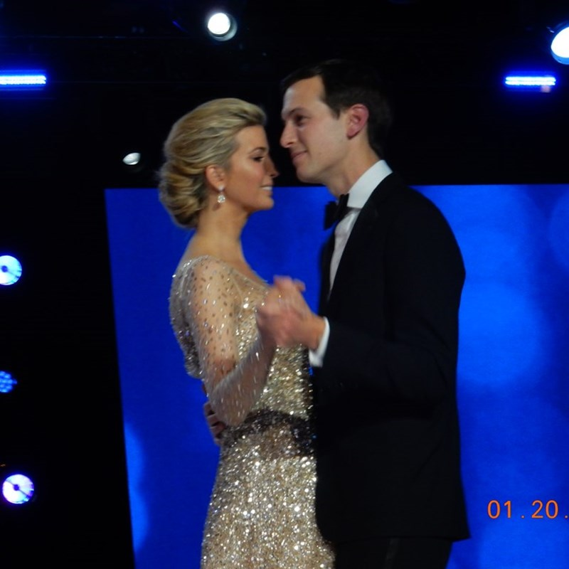 Ivanka Trump and her husband Jared Kushner