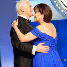 Vice President Mike Pence and his wife Karen