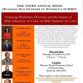 Analyzing Workforce Diversity and the Impact of Male Educators of Color on Male Students of Color