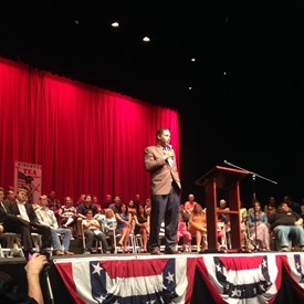 The annual KWTP Constitution Day Celebration and Freedom Rally with Senator Ted Cruz, Lieutenant Governor Dan Patrick, Attorney General  Ken Paxton, Congressman Ted Poe on Sept 3, 2015.
