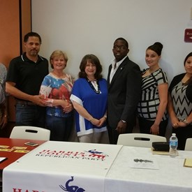Harris County Republican Party and Texas Republican Party engagement event on Aug 22, 2015.