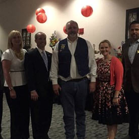 With Dan Huberty, Mike Schofield, Jack Cagle, Laryssa Korduba and Brenda Smith at Humble Civic Center for a Pct4 charity event on Friday August 14th, 2015.