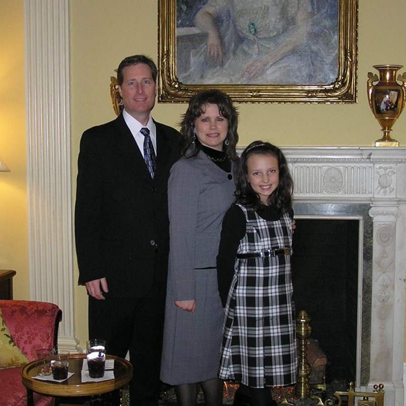 Several years ago, we were honored to spend an evening at the Governor's mansion.  We met a lot of wonderful fellow West Virginians.