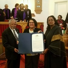 Presenting HJ 1016 to celebrate St. Paul AME's 130th Anniversary!