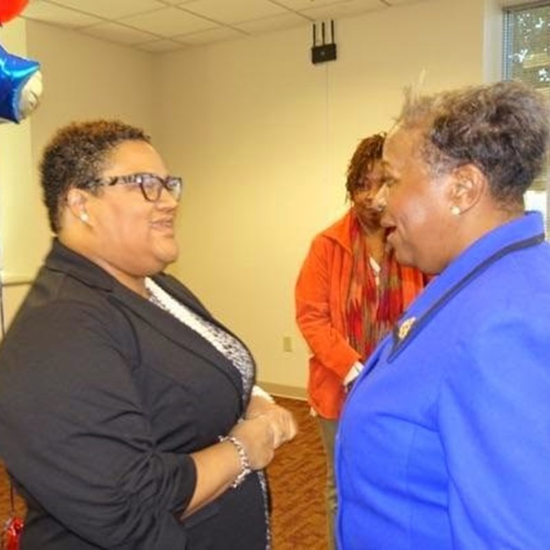 Getting support from community leaders - Photo by AG Price