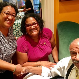 Had a great conversation with Congressman John Conyers of Michigan while visiting DC.