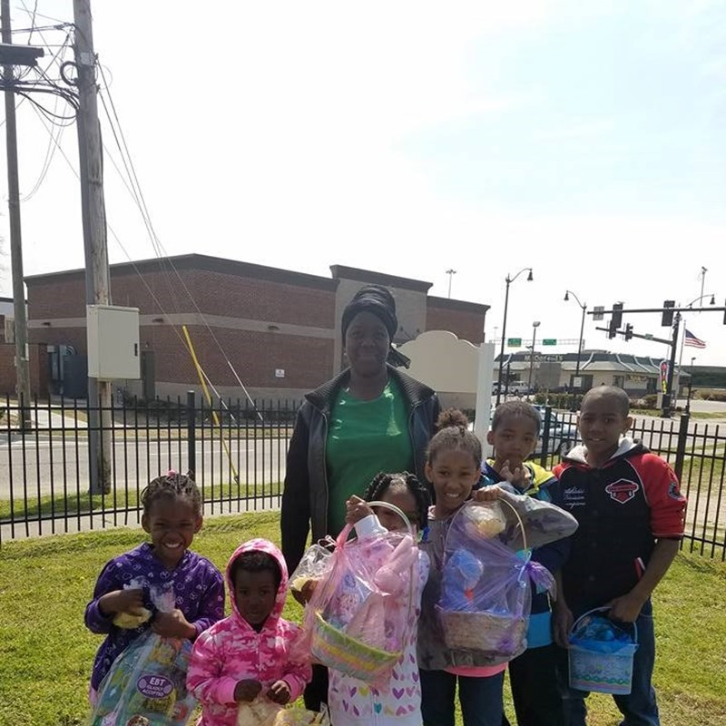 Everyone loved their Easter Baskets from Councilwoman Cherry's Easter Basket Giveaway for the Southeast Community