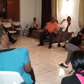 Meeting with the Women's Caucus of Trinidad and Tobago