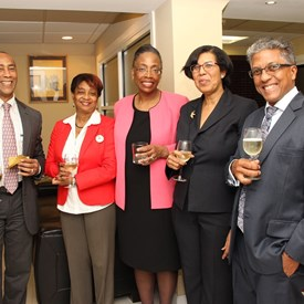 Judge Whitener meets with the Law Association of Trinidad and Tobago