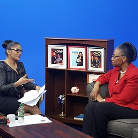 Judge Whitener speaking on CNC3 TV Show,