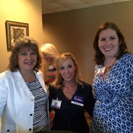 Holly Arbuckle, Melanie Bush, and I at the Montgomery County Republican Women September event.
