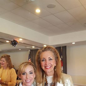 The Woodlands Republican Women September luncheon, with Kim Keough.