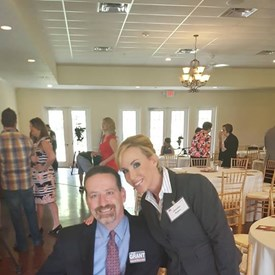 Phil Grant and I at The Woodlands Republican Women September luncheon.