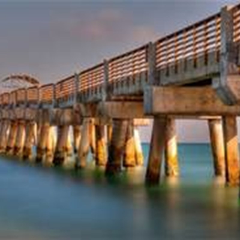 The Lake Worth Pier is one of the best fishing piers in the world.  Additionally, it creates sandbars which catch ocean swells, making Lake Worth one of the most consistent surfing spots in South Florida.  SURFS UP!!!!