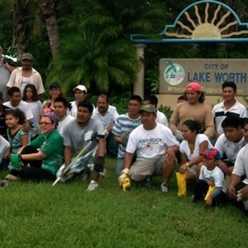 One of the many neighborhood clean-ups I am honored to have been a part of.  This clean-up addressed the alphabet streets