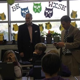 On March 10, I also visited Murray Middle School where I had the opportunity to interact with the students and then talk with the administration and teaching staff about various educational issues.