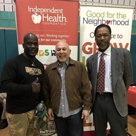 I had the opportunity to attend  Independent Health's Good for the neighborhood