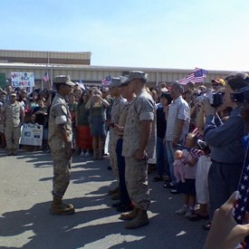 Sep. 2007: Nellis AFB- Being awarded the Purple Heart Medal for combat injuries received in Iraq.