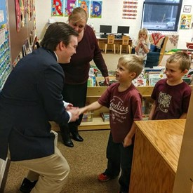 Visiting North Dickinson school was an absolute blast! I had the opportunity to meet some great young yoopers. The love for their teachers, classes, and school was evident at every corner!