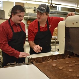 Rep. LaFave learned how to make U.P. famous, Sayklly's Candies, in Escanaba during another LaFavorite job last January. Kevin Robitaille, owner of Sayklly's Candies, was gracious enough to give us a full tour of his factory.