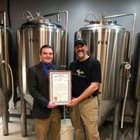 In 2018, 51st State Brewing Company opened their doors in Kingsford, Michigan. Beau stopped in for a LaFavorite Job and to present the business with an official government tribute.
