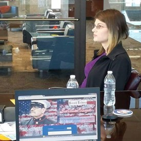 At and Interview with Andy Koen of KOAA, Misty and Manuel Valenzuela discussed the Deportation of Veterans.