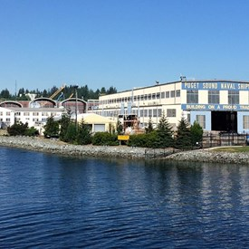 Puget Sound Naval Shipyard, Bremerton - source of significant economic activity in the district