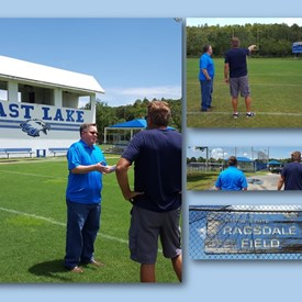 Site visit to East Lake Rec facilities