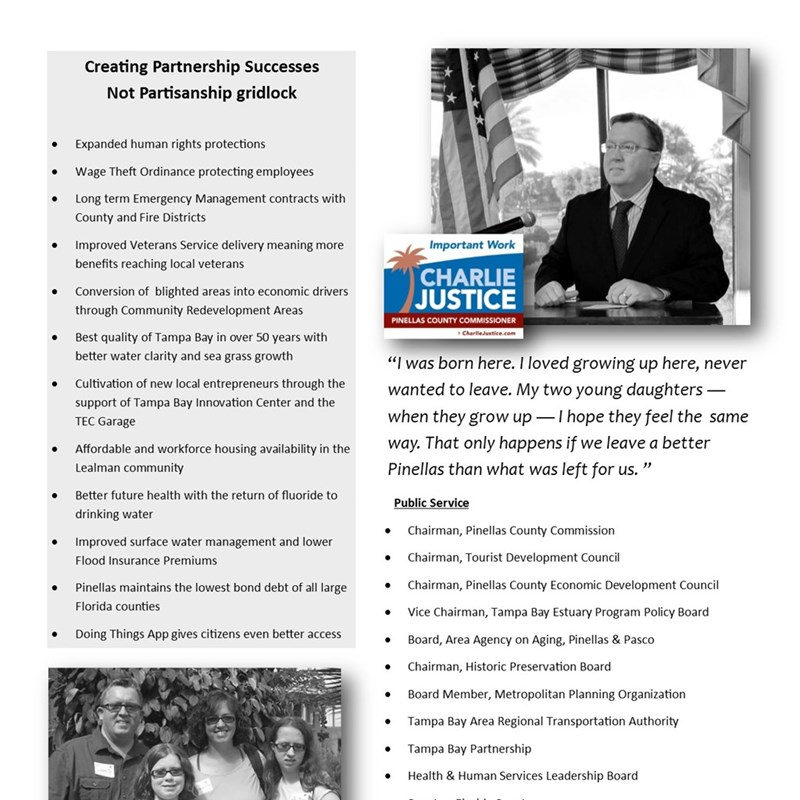 A quick one pager on the campaign