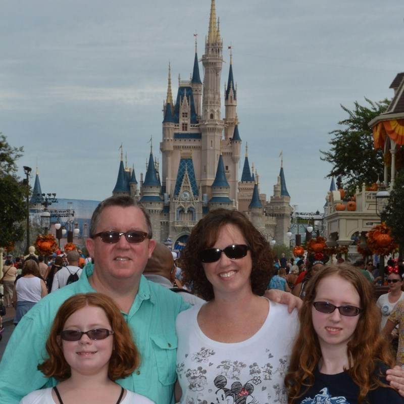 Family fun at the Magic Kingdom